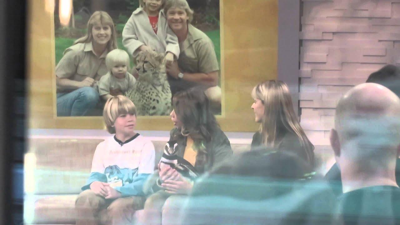 Good Morning America Bully Hunters : The crocodile hunter steve irwin s family talking at good