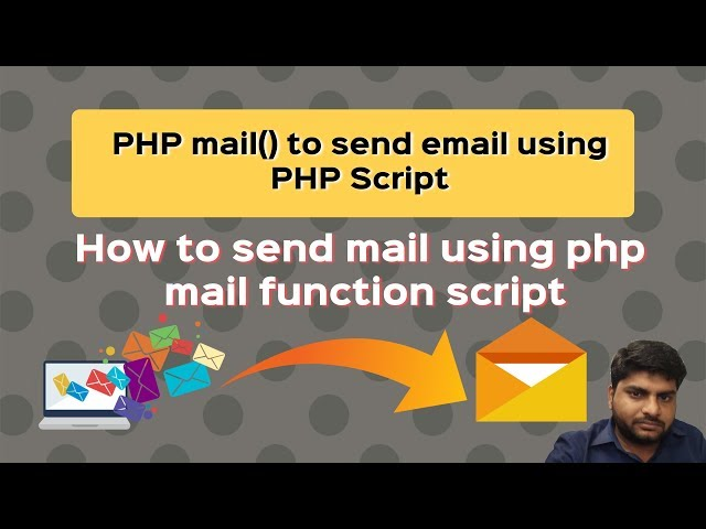 php script for sending email using smtp | php code to send email using mail headers