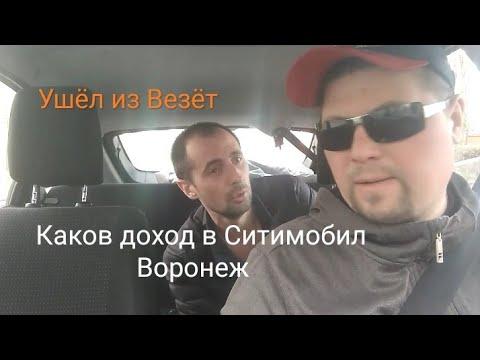 Работаю в Ситимобил. Каков доход, плюсы и минусы нового агрегатора в Воронеже.