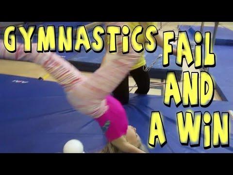 GYMNASTICS FAIL AND A WIN