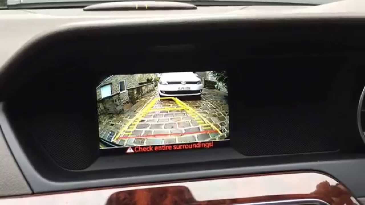mercedes c class reverse camera for becker pre wire cars with 5inch rh youtube com