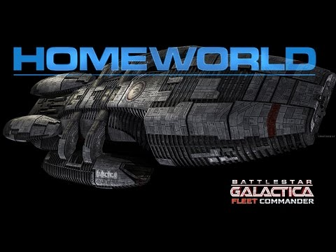 Battlestar Galactica: Fleet Commander - (Homeworld Remastered Workshop) Classic Homeworld 2 Mod