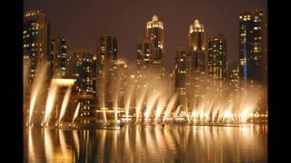 Emiraty Arabskie - Dubaj nocą