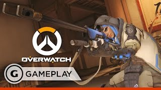 Ana Kill Streak Gameplay - Overwatch