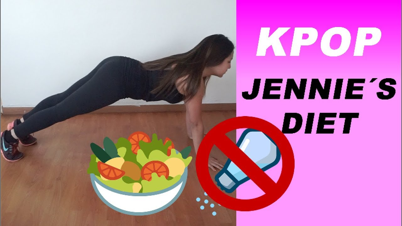 Trying JENNIE`S DIET (Kpop Diet) and this is what happened ...