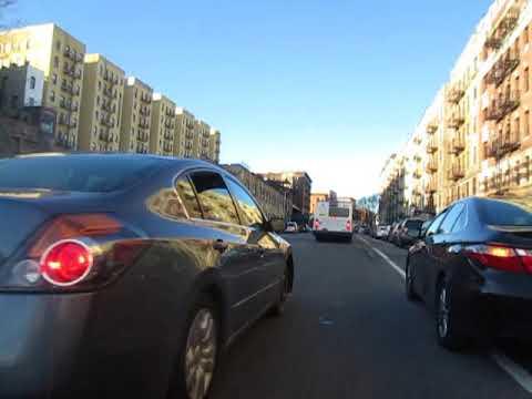 Clime and Bike up St. Nicolas Avenue to George Washington Bridge
