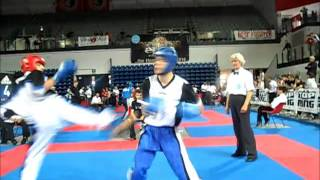 wako world cup Bestfighter 2013 : Italy vs Ukraine