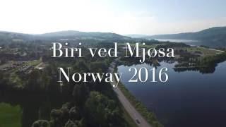 #01 Town Biri and lake Mjøsa, Norway