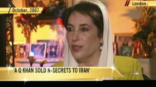 aq khan sold n secrets to iran benazir told ndtv