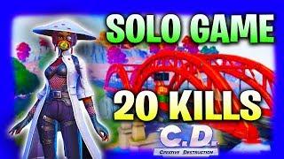 Solo Game #1 20 Kills Season 7 (Creative Destruction)