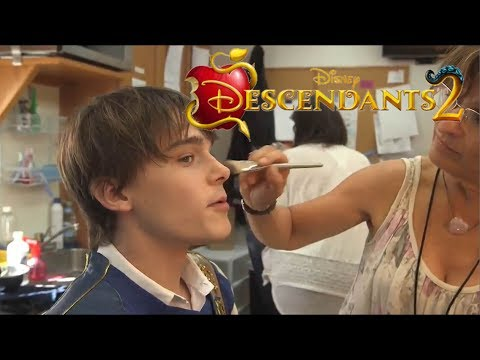 Descendants 2 -  Behind the Scenes with  Mitchell Hope