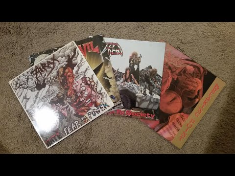 Vinyl Score #3 Metal Blade Mania