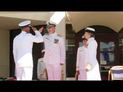 Robert E. Bush Naval Hospital Receives New Captain
