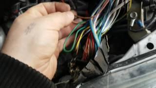 Не работает вентилятор охлаждения двигателя. Honda fit
