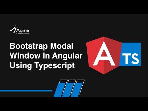 Bootstrap Modal Window In Angular Using Typescript | Learn Angular
