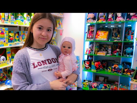 Шопинг с куклой реборн! Мы в магазине Chicco! Детский мир! Неделя влогов, день 3