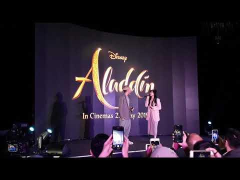 Ost Aladdin - A Whole New World Isyana Feat Gamaliel