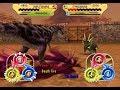 Dinosaur King Arcade Game 恐竜キング - Daspletosaurus X Majungasaurus VS the Al…