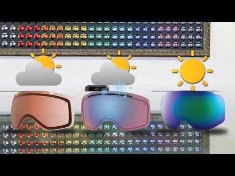 Ski & Snowboard Goggle Lens Color Guide | SportRx