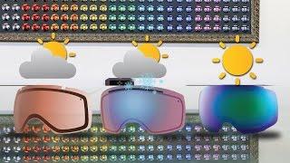 ski snowboard goggle lens color guide   sportrx