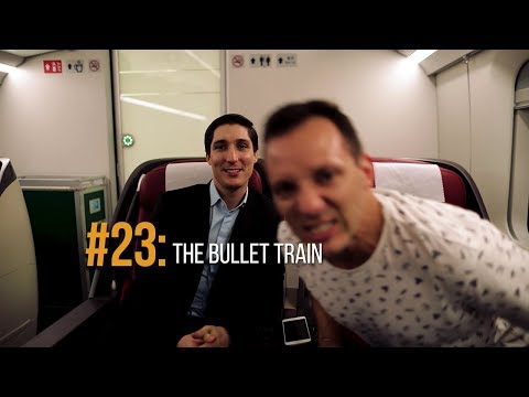 Cracking Jokes on the Bullet Train to Shanghai | China Travel Vlog | Unuided Nations Official