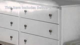Monterey 6 Drawer Dresser - Prepac Furniture