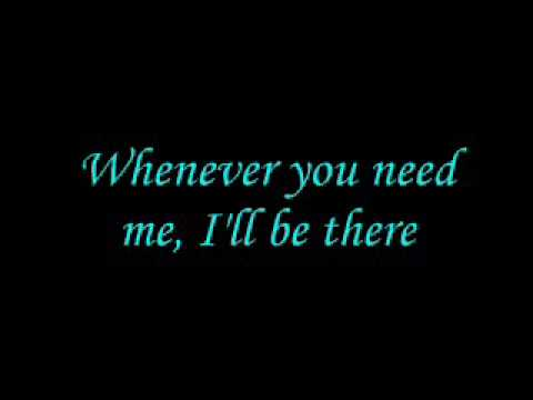 I ll be there with you lyrics