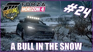 Forza Horizon 4 A Bull in the Snow Fortune Island Let's Play #24