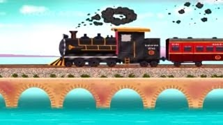 Hindi Rhymes  Chuk Chuk Rail Gaadi  Children39;s Rhymes  HD