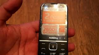 ОНЛАЙН ТРЕЙД.РУ — Мобильный телефон Nobby 310 черно-синий