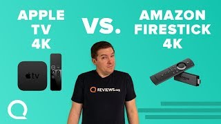 Apple TV 4K vs. Amazon Fire Stick 4K | 4K Streaming Battle
