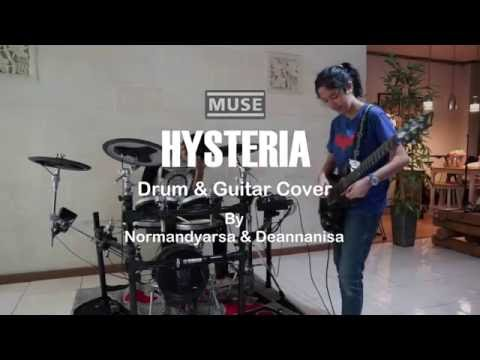 Muse - Hysteria (Drum & Guitar Cover)
