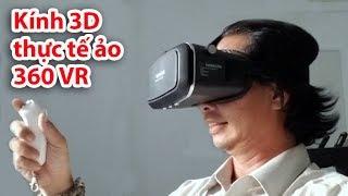 Hướng dẫn sử dụng Kính thực tế ảo 360 VR + Remote Bluetooth VR Box