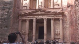 The Treasury (Al Khazneh) at Petra - Jordan