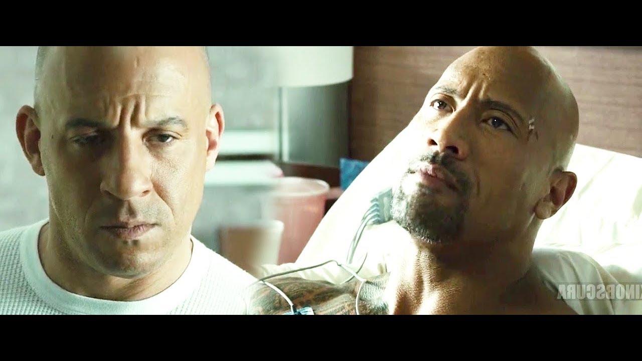 Download Furious 7 (2015) - Hobbs Hospital Scene