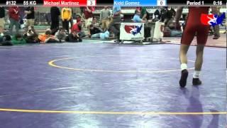 Last Chance Qual 55 KG: Michael Martinez (Cowboy WC) vs. Kidd Gomez (OCU Stars)