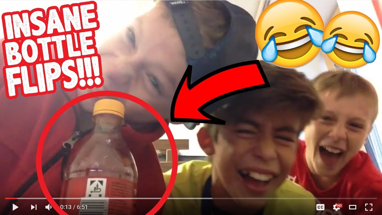 Download 3FC - YOU WON'T BELIEVE THESE INSANE BOTTLE FLIPS! TrickPerfect