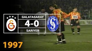 Nostalji Maçlar | 1996-1997 Sezonu Galatasaray 4 - 0 Sarıyer