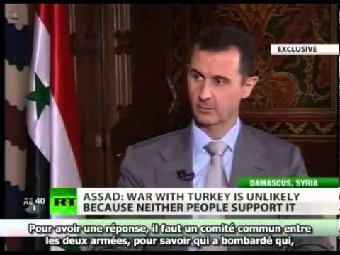 Interview with Syrian President Bashar al-Assad  08.11.2012 (French subtitles)
