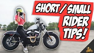 Ms. Blockhead's Motorcycle Tips For Short / Small Riders! 💁