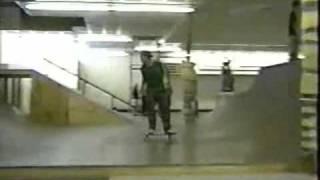 monk skating IRL