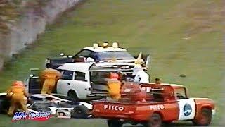 Fatal Crash at 1983 Fuji GC Series【Precious video】