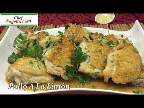 Pollo Al Limón, Receta Deliciosa