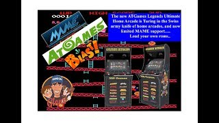 "AtGames Legendary Ultimate - now can run ""YOUR"" MAME Roms!"