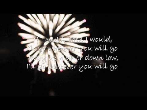 Wherever you will go  - Karaoke