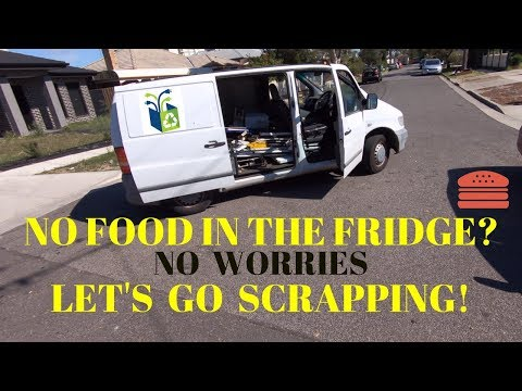 Street Scrap - No Food in the Fridge Challenge Pt 1