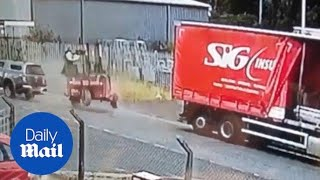 Ex-soldier faces losing career after forklift driver smash