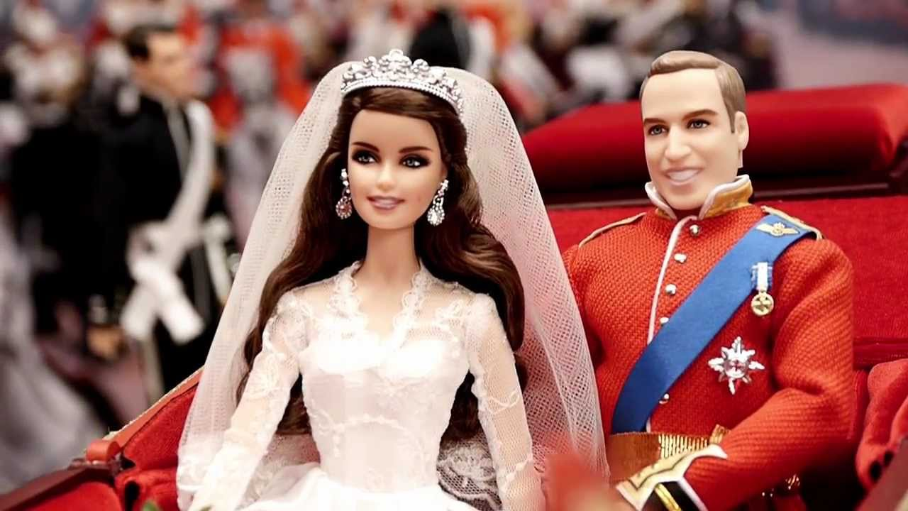 William And Catherine Royal Wedding Dolls Behind The Scenes Youtube