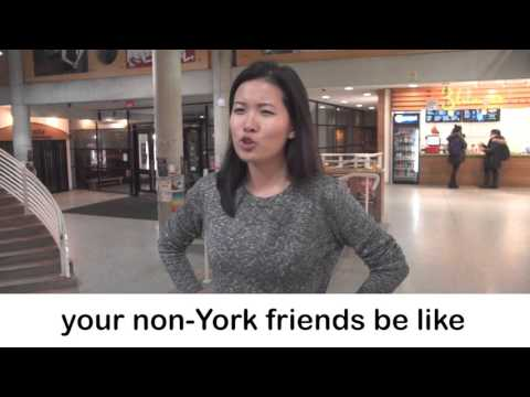 Things people who don't go to YorkU say...