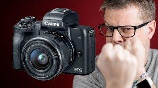Canon Eos M50, enfin la 4K ! et à 700€ ! Oui mais...😡